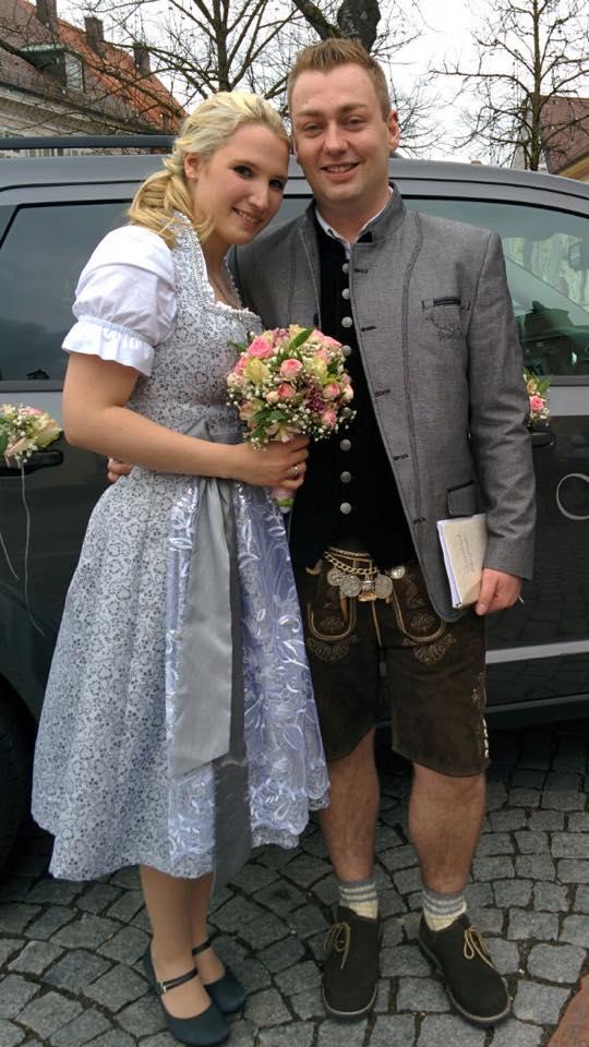 Hochzeitsoutfit für Susanne & Christian