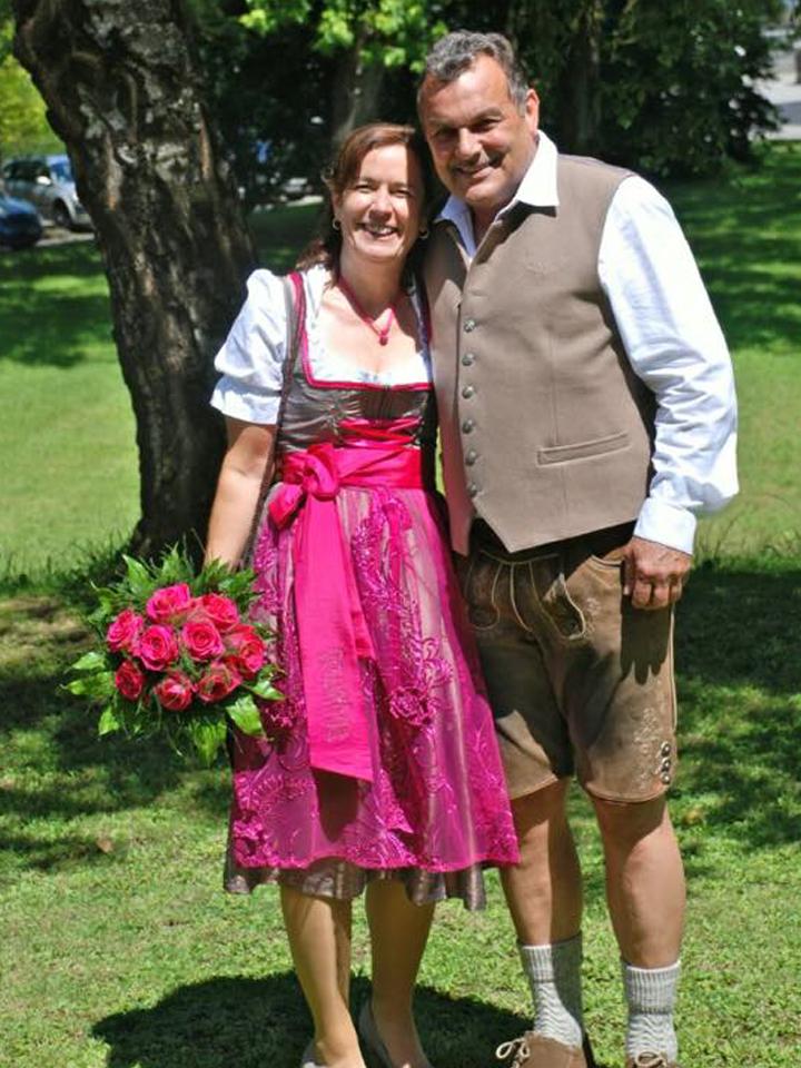 Irene & Wolfgang heiraten in Geweihda Trachtencouture
